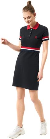 Jimmy Sanders ženska obleka, črna, S