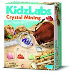 4M set za izkopavanje kristalov