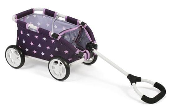 Bayer Chic Tahací vozík SKIPPER fialová hvězdička