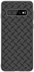 Nillkin Synthetic Fiber Ochranný zadní kryt pro Samsung G973 Galaxy S10 2444034, šedočerná
