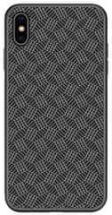 Nillkin Synthetic Fiber Ochranný zadní kryt pro iPhone X/XS 2444035, šedočerná