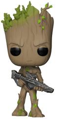Funko POP Marvel Infinity War Groot with Blaster