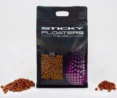Sticky Baits Plovoucí Pelety Floaters Krill 3 kg