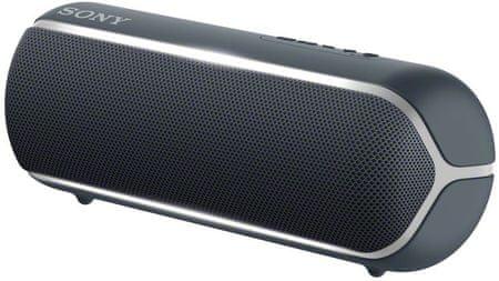 Sony SRS-XB22 prijenosni Bluetooth zvučnik, crna