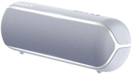Sony SRS-XB22 prijenosni Bluetooth zvučnik, svijetlo siva