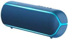 Sony SRS-XB22 prenosni Bluetooth zvočnik, temno moder - Odprta embalaža