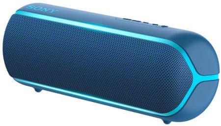 Sony SRS-XB22 prijenosni Bluetooth zvučnik, tamno plava