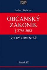 Melzel Filip, Tégl Petr: Občanský zákoník IX. svazek, § 2894-3081 Závazky z deliktů a z jiných právn
