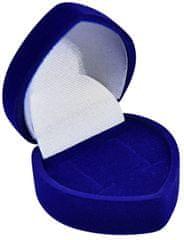 Jan KOS Niebieskie pudełko na prezent Kolczyki F-75 / NA / A14