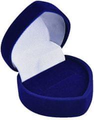 Jan KOS Niebieskie pudełko na prezent Kolczyki lub pierścień F-75 / A14