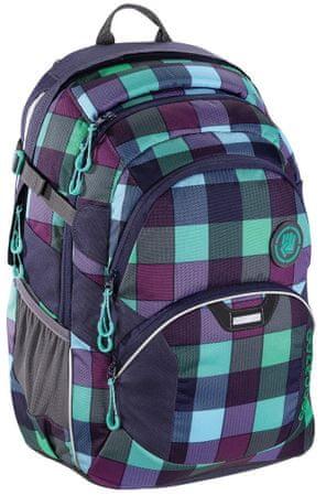 CoocaZoo plecak szkolny JobJobber2, Green Purple District