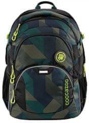 CoocaZoo plecak szkolny JobJobber2, Polygon Bricks