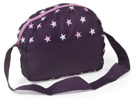 Bayer Chic Přebalovací taška fialová hvězdička