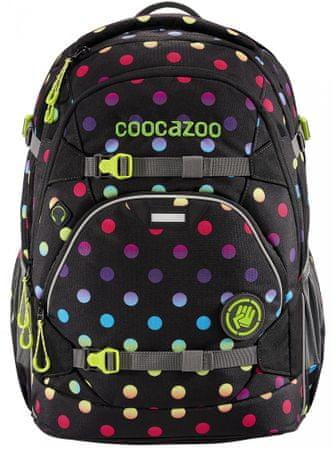 CoocaZoo plecak szkolny ScaleRale, Magic Polka Colorful, certyfikat AGR