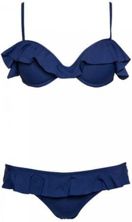 c7a608c04231 Pepe Jeans dámské plavky Estelle M tmavo modrá