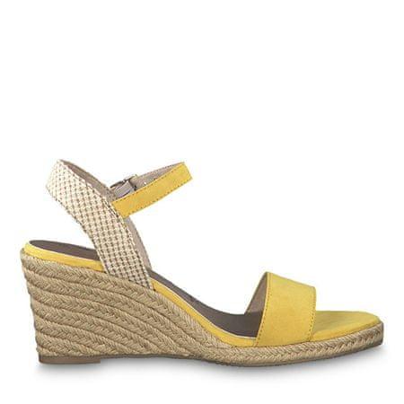87a4e3855b4bd Tamaris Dámské sandále 1-1-28300-22-673 Sun/Beige (Velikost 40 ...