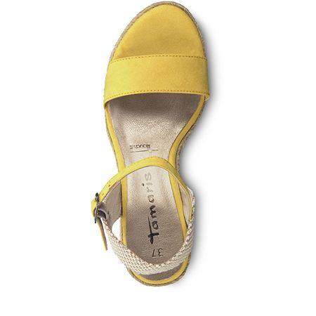 6cb36b55fc681 Tamaris Dámské sandále 1-1-28300-22-673 Sun/Beige (Velikost 37 ...