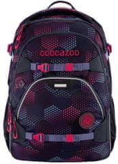 CoocaZoo plecak szkolny ScaleRale, Purple Illusion, certyfikat AGR
