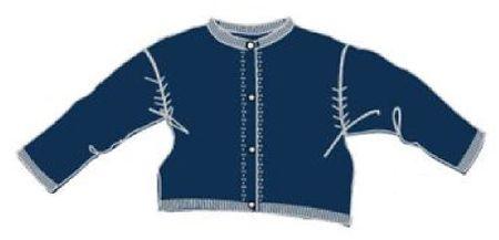 Carodel dívčí svetr 86 modrá
