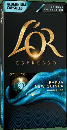 L'Or Papua Intenzita 7 - 10 ks hliníkových kapslí