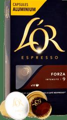 L'Or Espresso Forza Intenzita 9 - 10 ks hliníkových kapslí