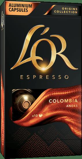 L'Or Espresso Colombia 10 hliníkových kapslí kompatibilních s kávovary Nespresso®*