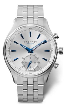 Kronaby pánské hodinky Connected watch SEKEL A1000-3121