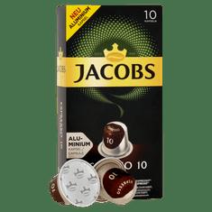 Jacobs Espresso Intenso Intenzita 10 - 100 hliníkových kapsulí kompatibilných s kávovary Nespresso® *