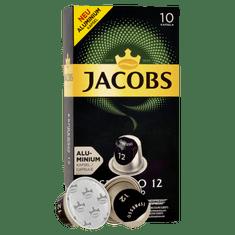 Jacobs Espresso Ristretto Intenzita 12 - 100 hliníkových kapslí kompatibilních s kávovary Nespresso® *