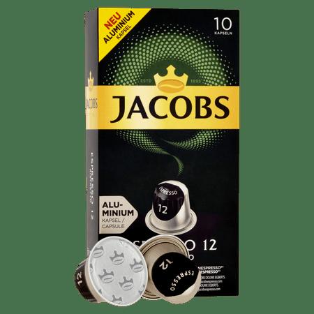 Jacobs Espresso Ristretto Intenzitás 12 - 10 db alumínium kapszula