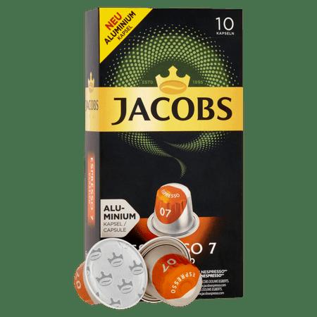 Jacobs Espresso Classico Intenzitás 7 - 10 db alumínium kapszula