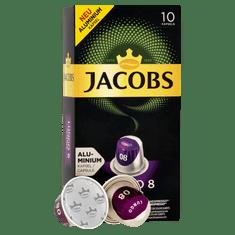 Jacobs Lungo Intenso Intenzita 8 - 100 hliníkových kapsulí kompatibilných s kávovary Nespresso® *