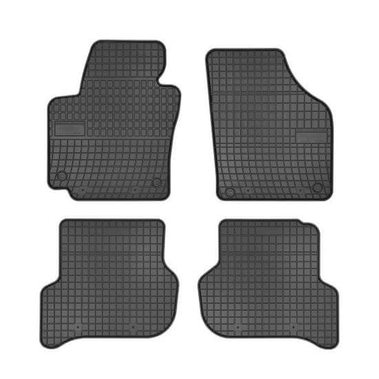MAMMOOTH Koberce gumové, Seat Altea a Altea XL (VAN) od 03.2004, sada 4 ks, černé