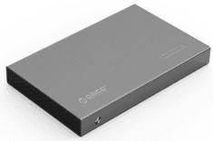 "Orico zunanje ohišje za HDD/SSD 2518S3-GY, USB 3.0, SATA III, 6,35 cm (2,5""), sivo"