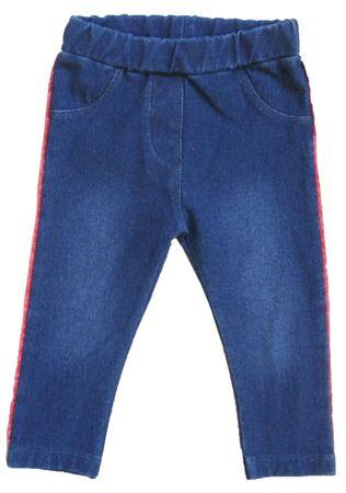 Carodel dievčenské jeansové legíny 68 modrá