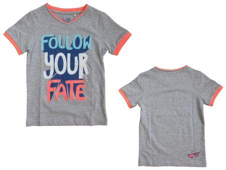 Carodel chlapčenské tričko 116 sivá