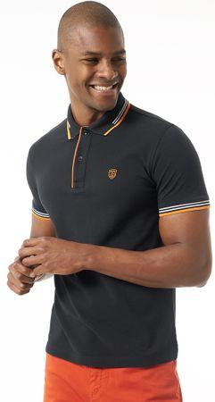 Jimmy Sanders moška polo majica, M, črna