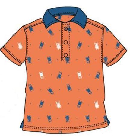 d7771f556b9a6 Carodel chlapčenské polo tričko 92 oranžová   MALL.SK