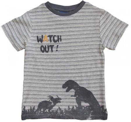 Carodel chlapčenské tričko 92 sivá