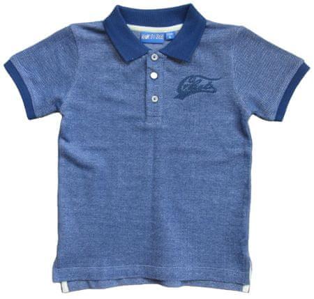 Carodel chlapčenské polo tričko 128 modrá