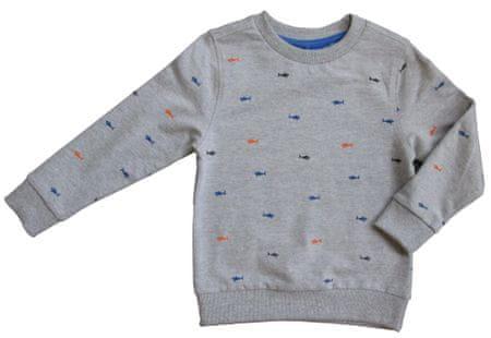 Carodel chlapecký svetr 104 šedá