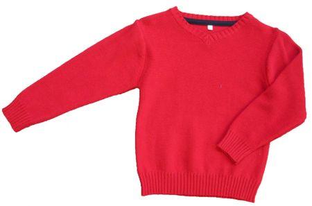Carodel chlapčenský sveter 92 červená