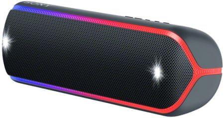 Sony SRS-XB32 prijenosni Bluetooth zvučnik, crna