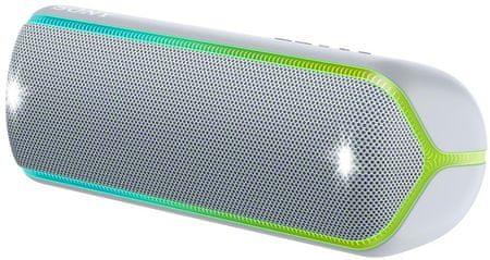 Sony SRS-XB32 prenosni Bluetooth zvočnik, svetlo siv