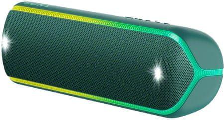 Sony SRS-XB32 prijenosni Bluetooth zvučnik, tamno zelena