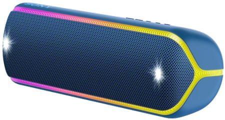 Sony SRS-XB32 prijenosni Bluetooth zvučnik, tamno plava