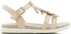 V+J dievčenské sandále so strapcami