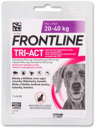 Merial Frontline TRI-ACT spot on Dog L 4 ml