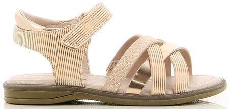 V+J dekliški sandali, 26, zlati