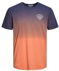 Jack&Jones Męska koszulka trykotowa Jordeeper Tee Crew Neck Persimmon Reg